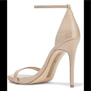 Sam Edelman Shoes - 💕NWB Sam Edelman Ariella Patent Nude Heel Sandals
